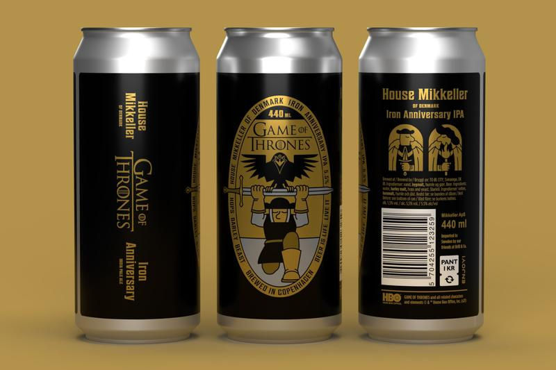 Mikkeller Launches Game of Thrones Inspired Beer in Celebration Of Its 10th Anniversary Warner Bros. HBO Iron Anniverary IPA