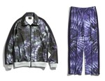 NEEDLES Splashes Track Suits With Summery Tie-Dye