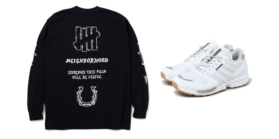 NEIGHBORHOOD and UNDEFEATED's Follow-Up Collaboration Turns Pain Into Gain