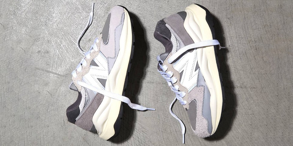 New Balance 57/40 Appears in Signature Gray