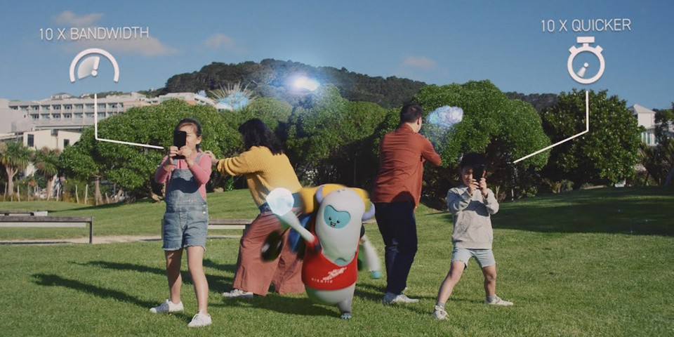 Niantic's New 5G Game Demo Shows Off the Capabilities of AR Gaming