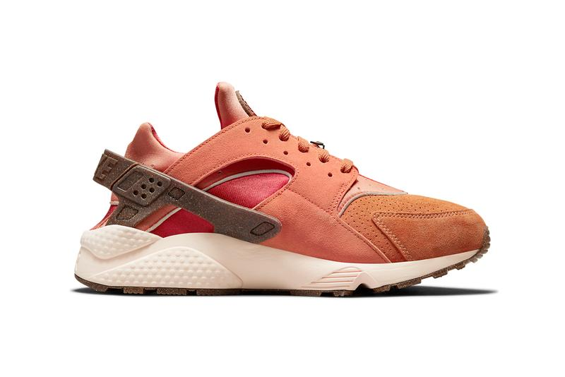 nike sportswear air huarache turf orange chile red frost brown white DM6238 800 official release date info photos price store list buying guide