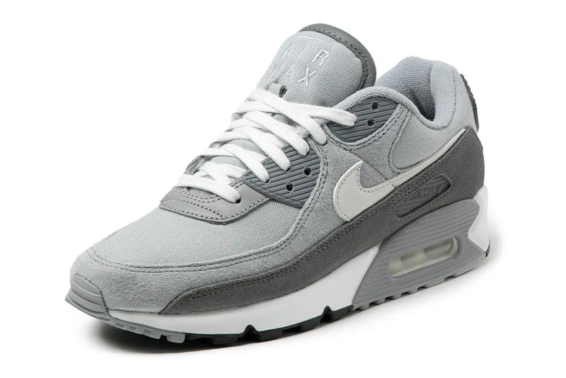 nike sportswear air max 90 light smoke grey white particle obsidian summit midnight navy DA1641 001 400 official release date info photos price store list buying guide