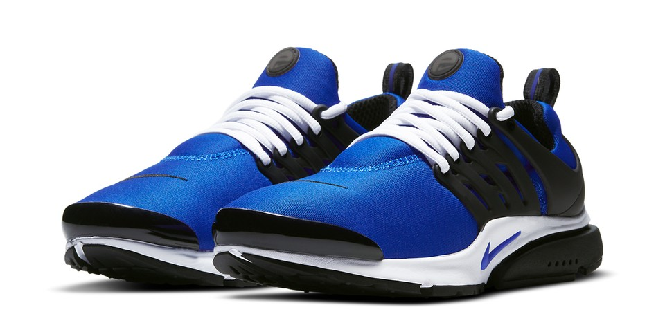"Nike Air Presto Arrives in Sporty ""Racer Blue/Black"""