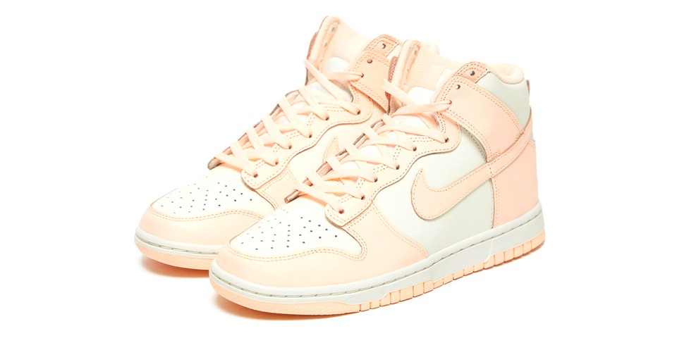 "Check Out the Nike Dunk High in ""Crimson Tint"""