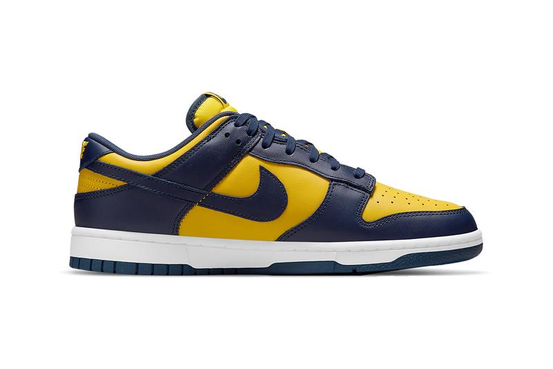 nike dunk low michigan team green DD1391 700 DD1391 101 wolverines spartans michigan state release date info store list buying guide photos