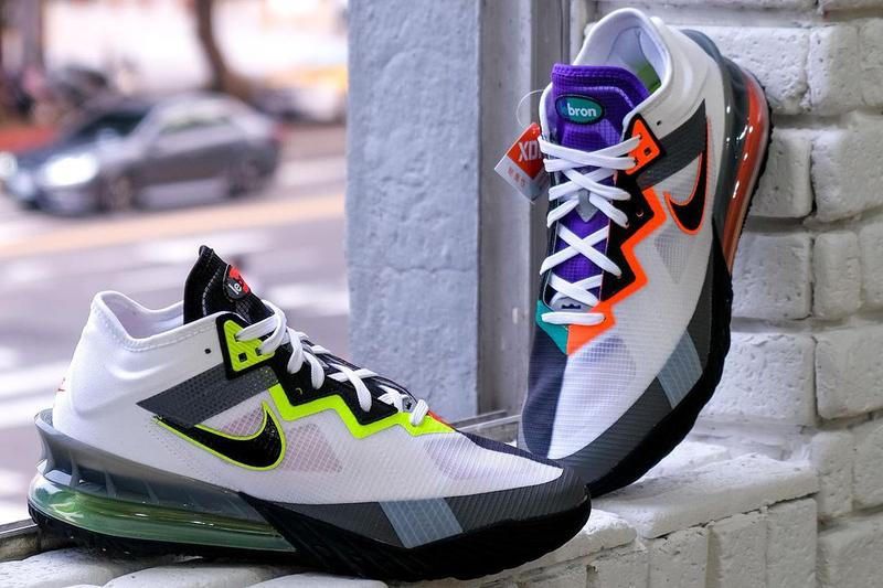 nike basketball lebron 18 low greedy air max 95 CV7564 100 official release date info photos price store list buying guide