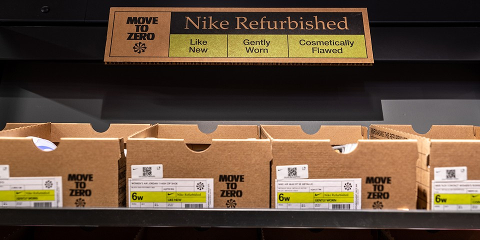 "Nike Reveals Details for New ""Nike Refurbished"" Circularity Program"
