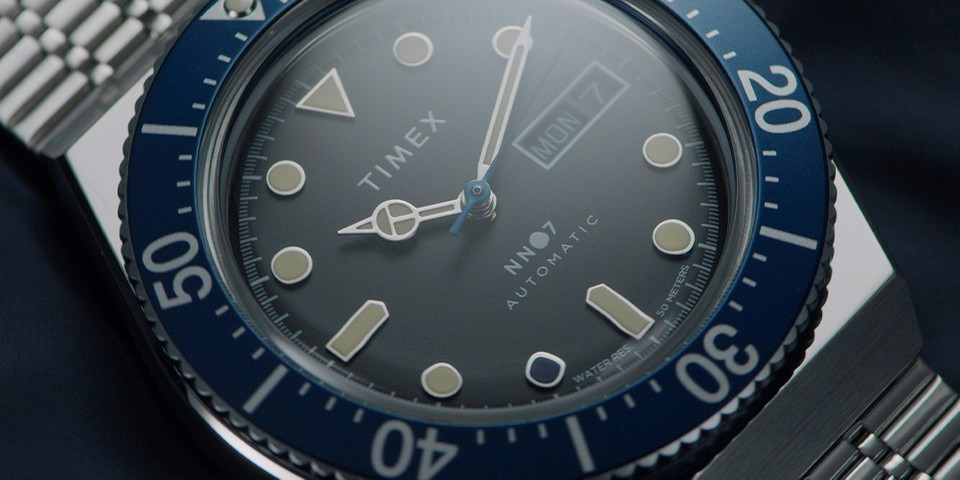 NN07 Adds Signature Navy Details to Timex M79