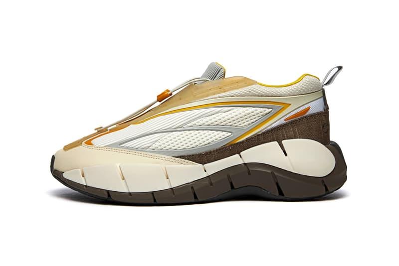 """Reebok Zig 3D Storm Hydro g55691 g55692 """"Alabaster"""" """"Black"""" Release Information New Sneaker First Look Drop Date Technical Chunky Sneaker Shoe Footwear News"""