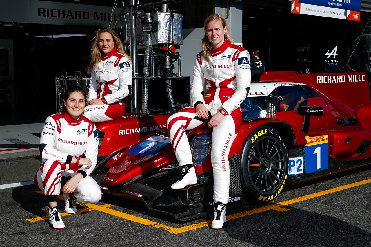 Richard Mille Automatic Racing Red RM07-01 For All-Female World Endurance Championship Driving Team