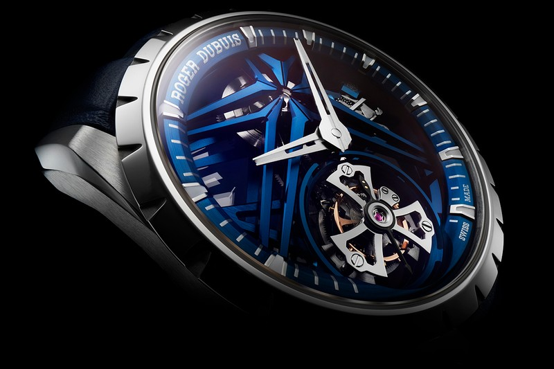 Roger Dubuis Drops Four New Flying Tourbillons and Glowing Diamonds