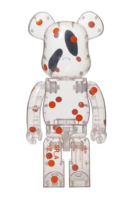 Samuel Ross x Medicom Toy BE@RBRICK 1000% A-COLD-WALL* Virgil Abloh London Designer SR_A Japanese Collectible Design Interior HYPE