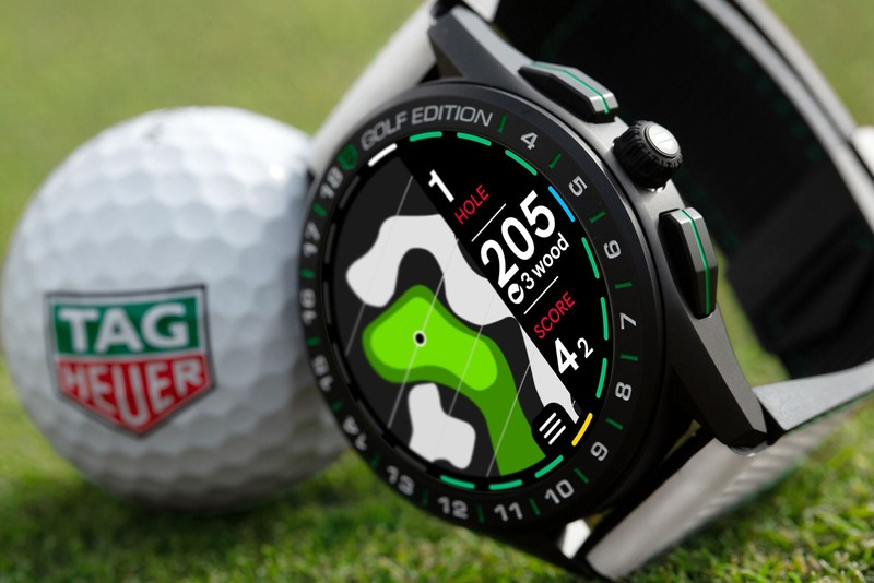 Tag Heuer Updates Its Popular Connected Watch With the All-New Golf Edition