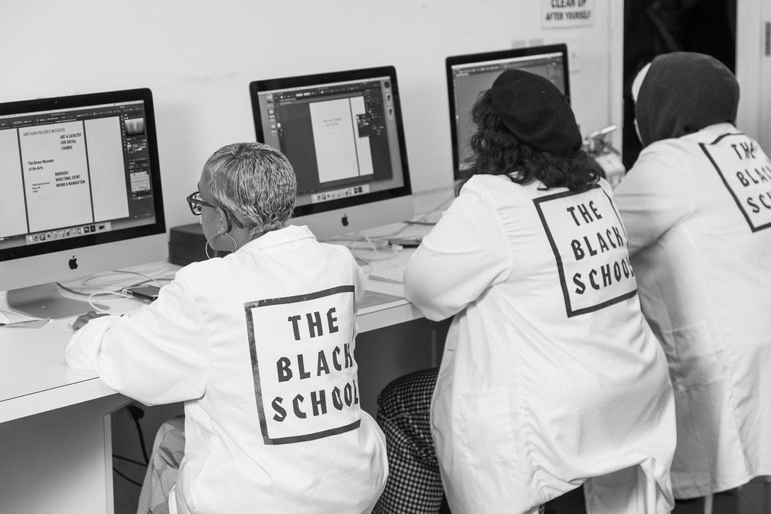 the black school social change art artworks fundraiser activism black lives matter