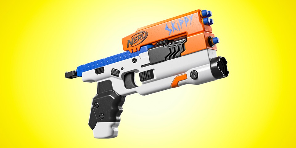 TheToyZone Renders NERF Blasters Inspired by Popular Video Games