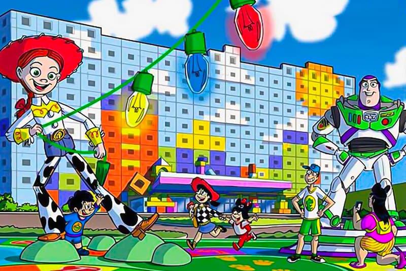 Tokyo Disneyland Resort Toy Story Hotel announcement pixar News Bayside Station