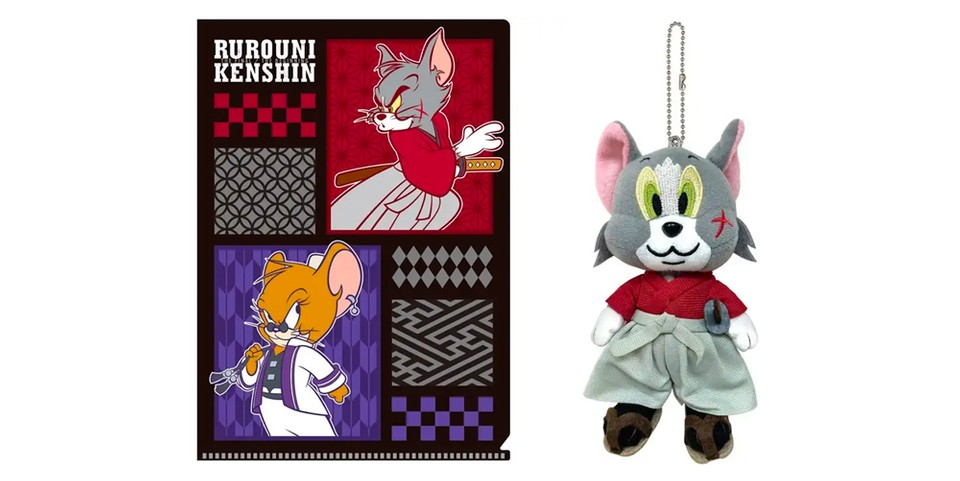 'Tom & Jerry' Go Feudal for 'Rurouni Kenshin' Movie Collab Release
