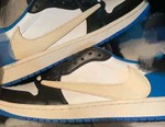 """Another Look at the Travis Scott x fragment x Air Jordan 1 Low OG """"Military Blue"""" Surfaces"""