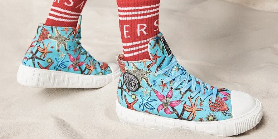 Versace Debuts New Greca Sneaker for SS21
