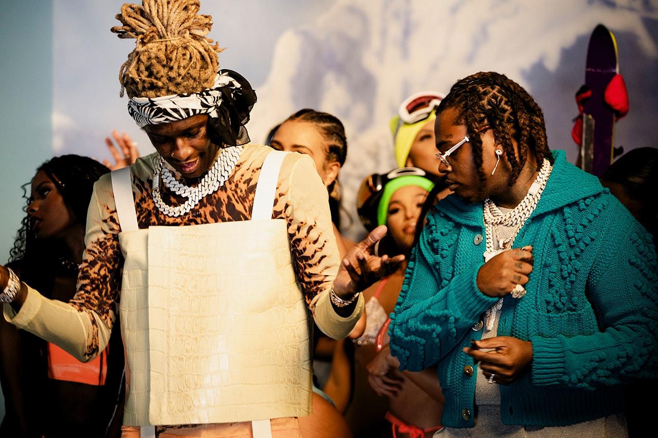 young thug gunna ski music video release info song stream