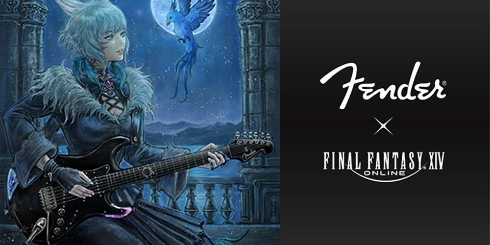 Fender Is Releasing a 'Final Fantasy XIV' Edition Stratocaster Guitar