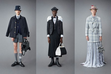 Thom Browne's Resort 2022 Menswear Collection Is Anything But Casual