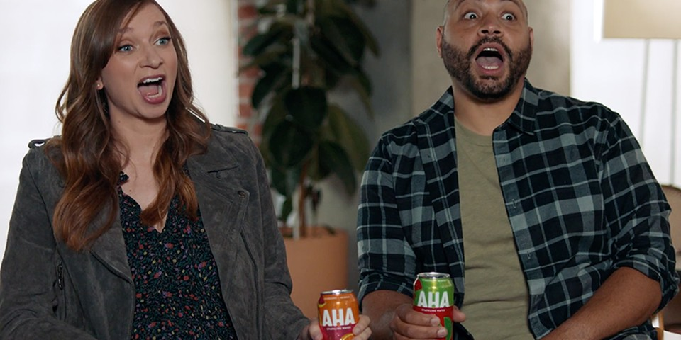AHA Sparkling Water's Formula for Success Can Be Found in Its AHAttention-Grabbing Visuals