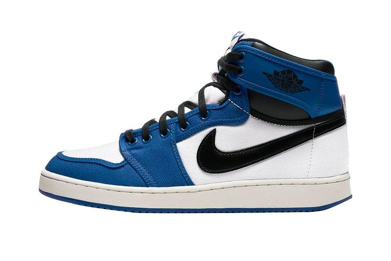 "An Air Jordan 1 KO Retro ""Storm Blue"" Colorway Surfaces"