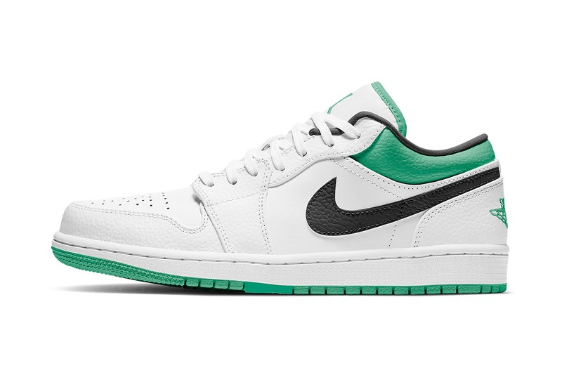 "Air Jordan 1 Low Receives a ""Lucky Green"" Makeover"