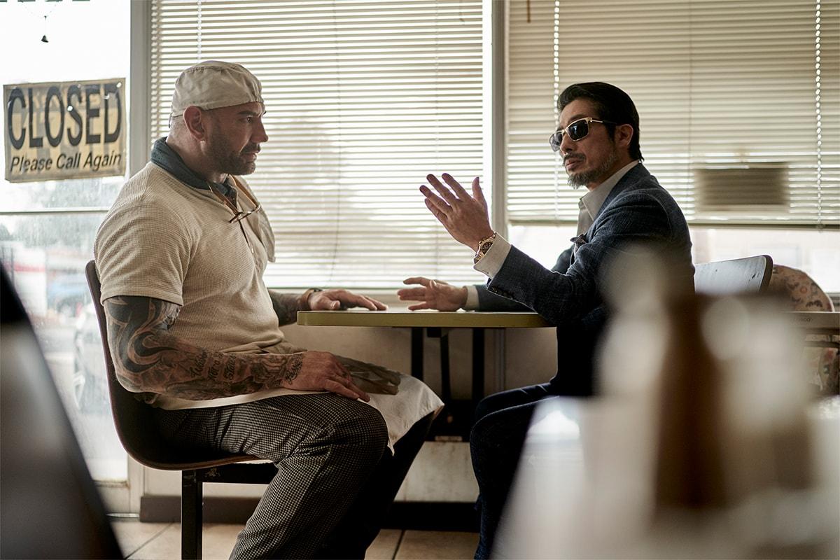 netflix zombie heist movie film army of the dead director lead actor zack snyder dave bautista interview