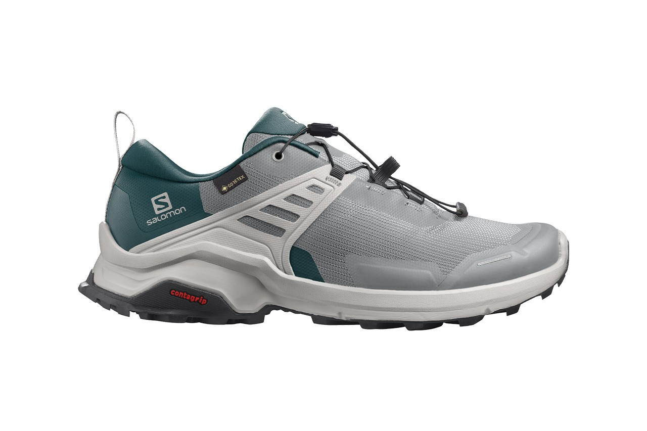 Best Men's Hiking Footwear 2021 Feature haglofs Salomon keen the north face Merrell Hoka one one on running