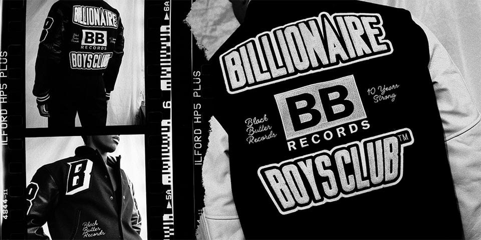 Black Butter Records Celebrates 10 Years With Billionaire Boys Club EU Team Varsity Jacket Collab