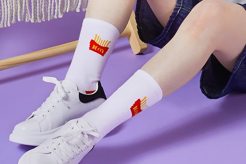 BTS McDonald's Meal Images Merch