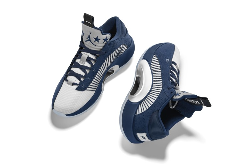 """Jordan Brand Presents Caris Levert's Air Jordan 35 Low """"Dad"""" PE"""