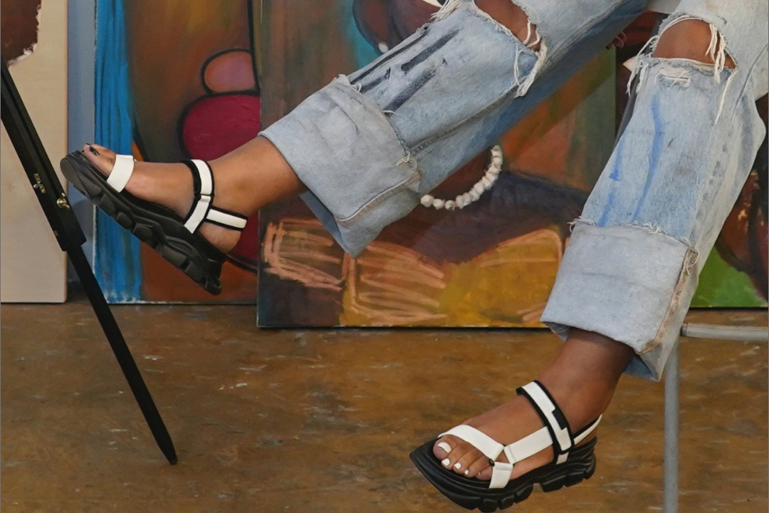 CHARLES & KEITH dash sandal spring summer 2021 comfortable footwear sneakers singapore dj music tracks playlist curation quiana parks mademoiselle yulia