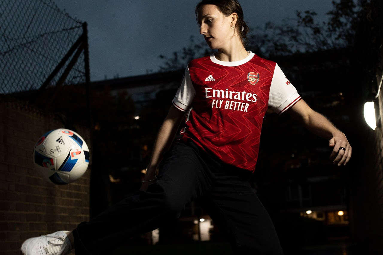Common Goal Lotte Wubben-Moy Feature Interview Arsenal Womens England ladies football soccer UK US