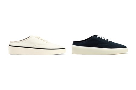 Slip Into Summer With Fear of God's Canvas Backless Sneakers