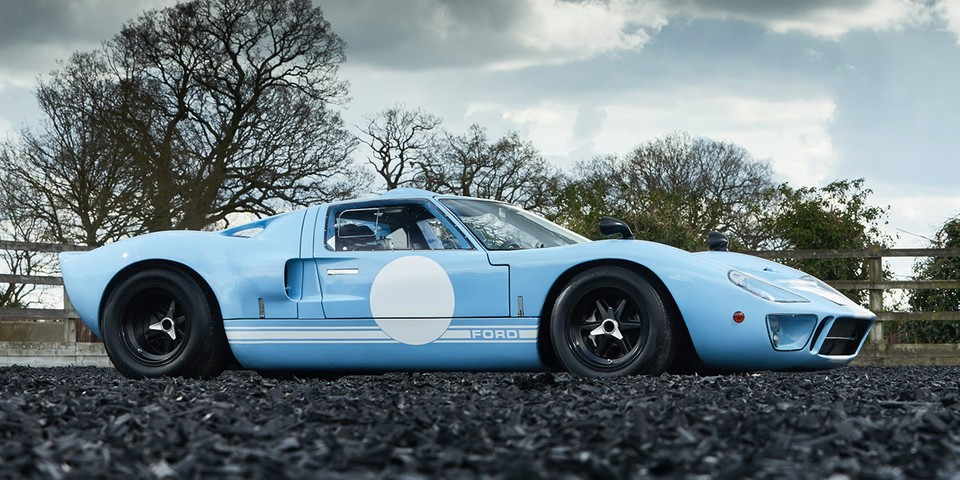 The Last GT40 Ford Ever Produced Is Now up For Auction