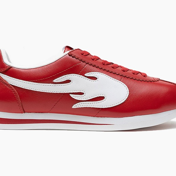 """YG """"Block Runner"""" Fiery Red and White"""