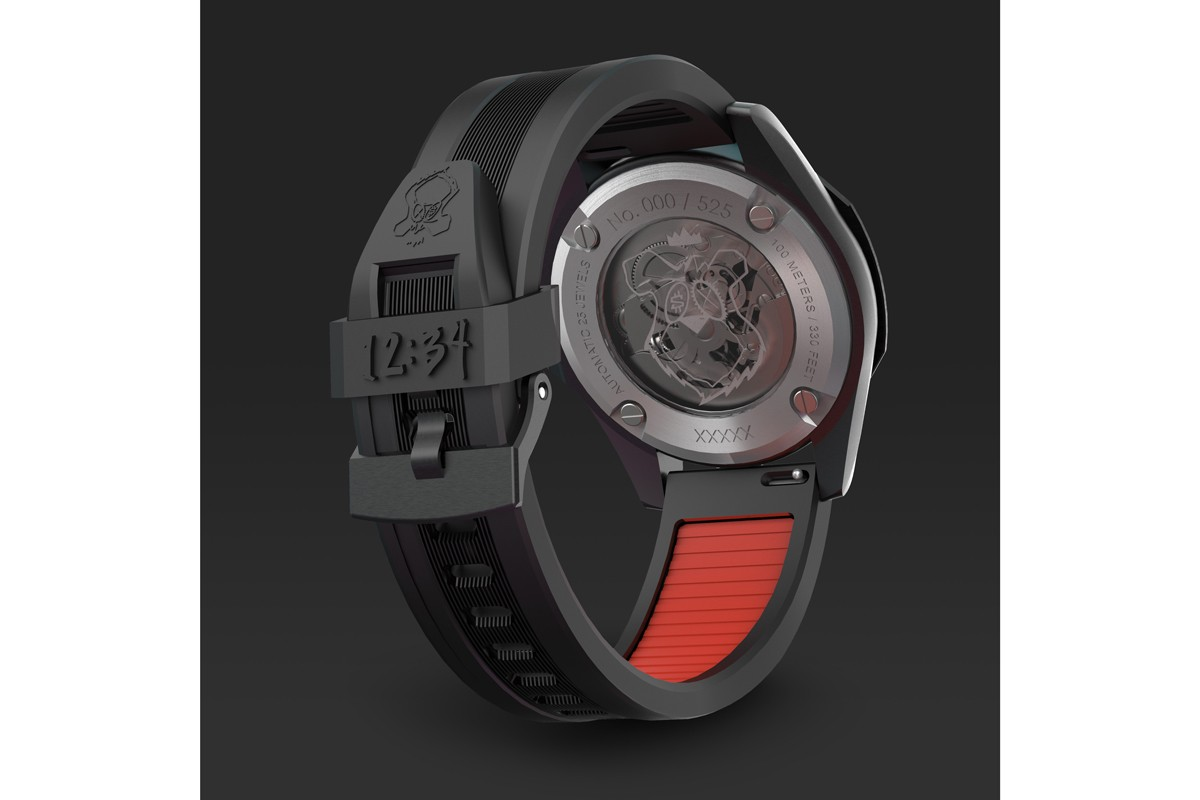 artist timepiece watch acrylic customize vinyl toy figurine luxury