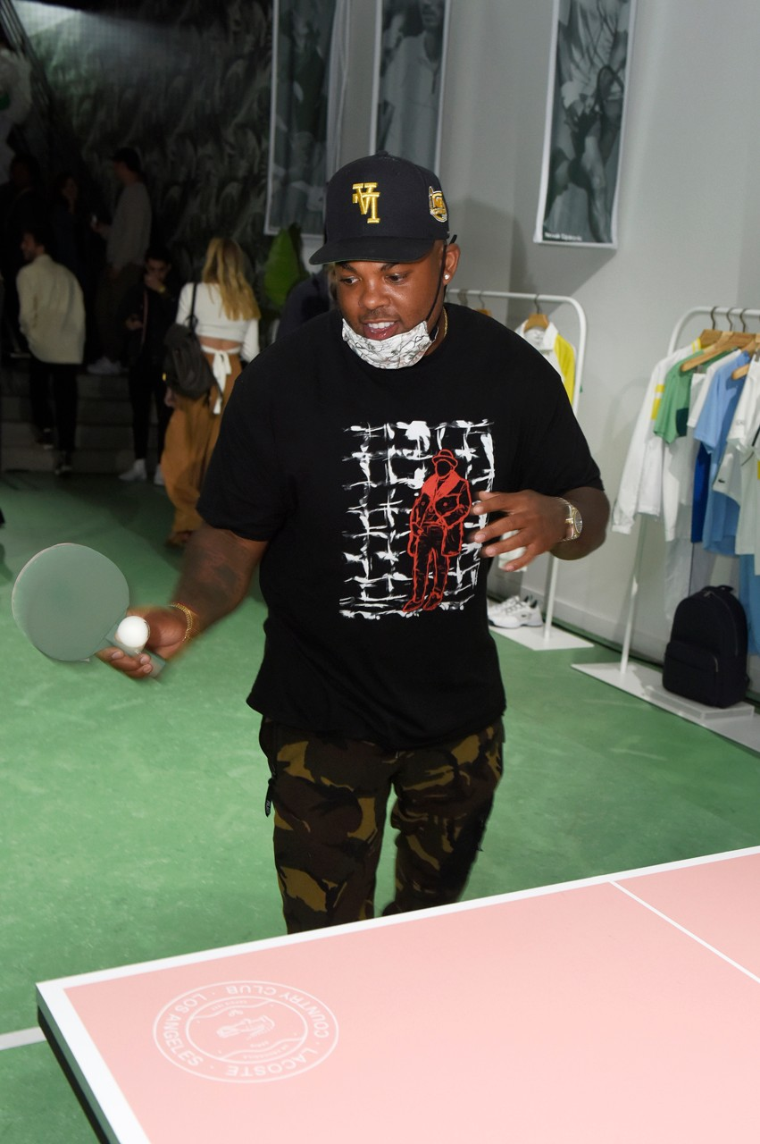 tennis sport country club melrose place los angeles ping pong tabel pink green core collection retail concept