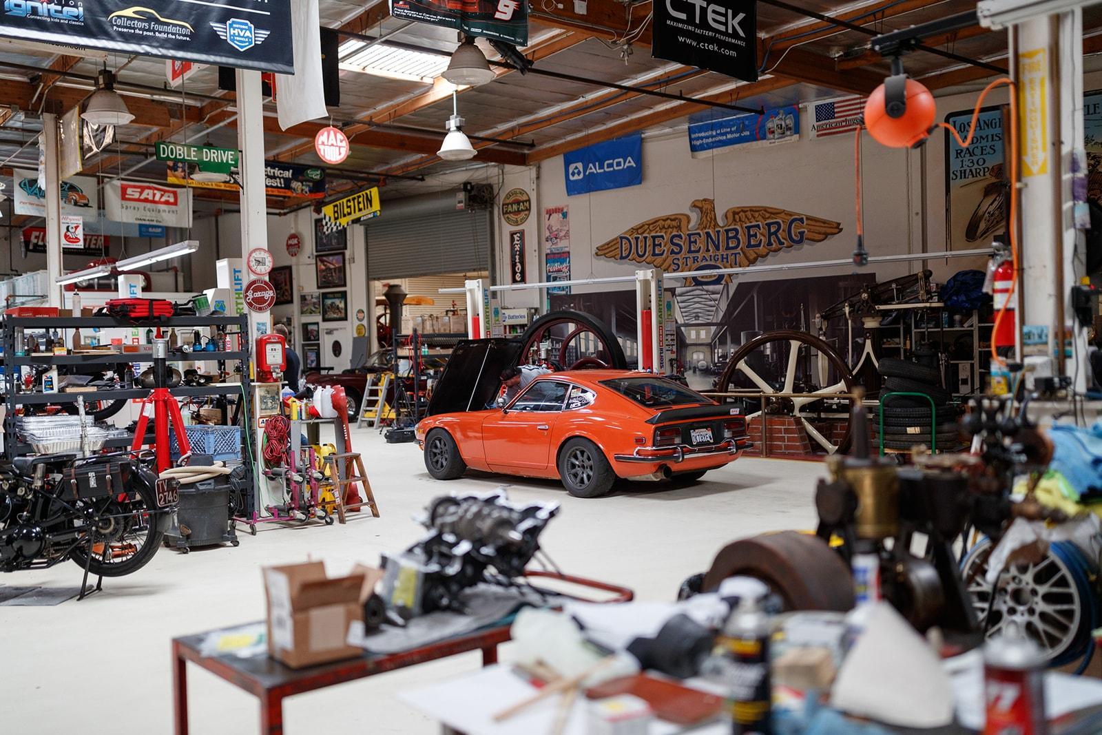 Photographer Larry Chen's Orange 1970 Datsun 240Z Nissan Drift Fast Furious Hoonigan Modified
