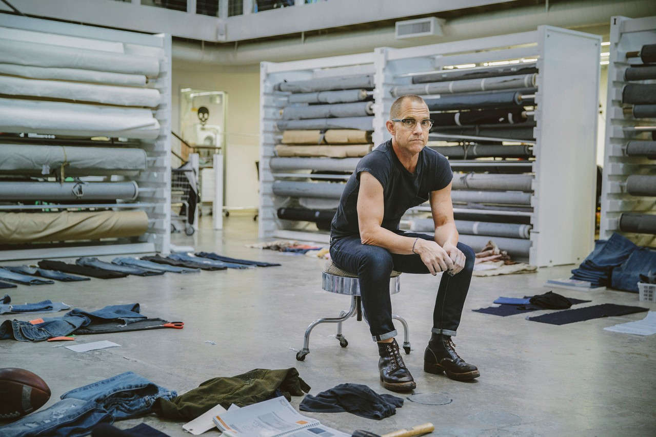 Levi's FLX Project Future-Led Execution Laser Denim Detail Sustainable 501s Jeans Bart Sights Innovation Tech Future Eco Friendly Washes Interview HYPEBEAST What the Tech Factory Eureka Lab
