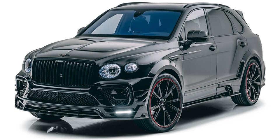 Mansory Equips the Bentley Bentayga With Carbon Fiber-Clad Widebody Kit