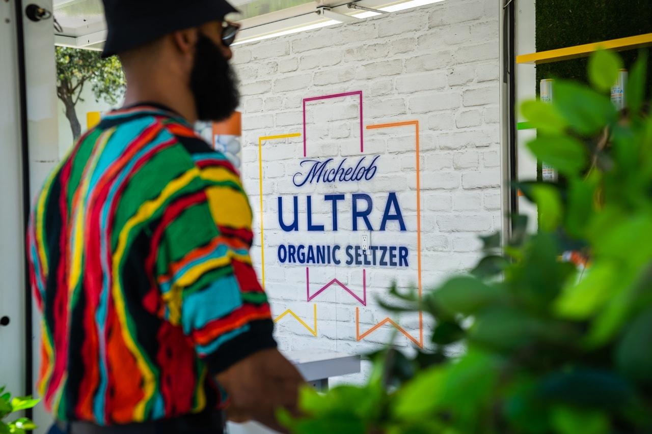Michelob ULTRA Organic Seltzer Sand Bunker Bar at HYPEGOLF Miami