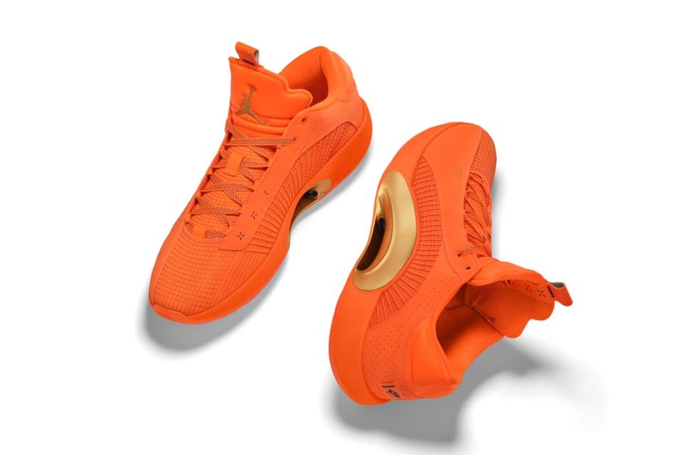 "Jordan Brand Welcomes Obi Toppin to the Family With an Air Jordan 35 Low ""Orange Flood"" PE"