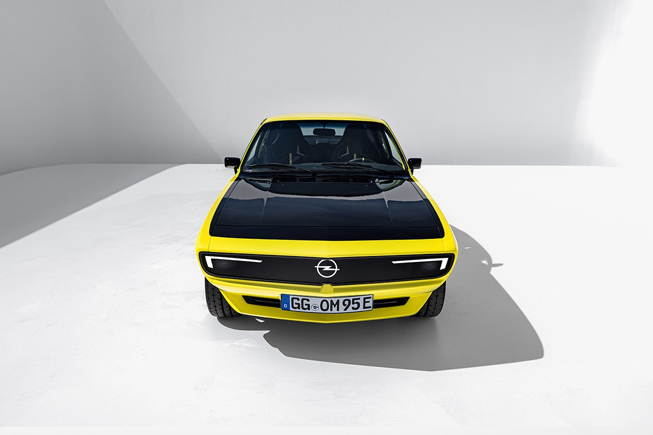 Opel Electrifies 51 Year Old Manta A With All-Electric Drivetrain Restomod