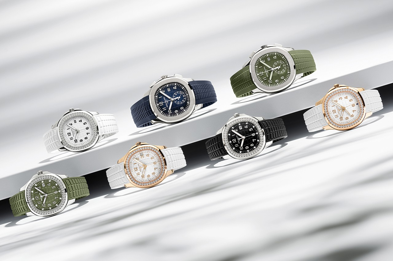 Patek Philippe Adds Seven New References its Aquanaut Collection