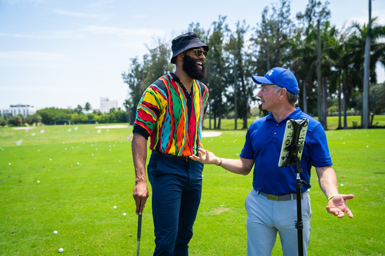 COBRA PUMA GOLF Activations Recap at HYPEGOLF Miami Sound On Hole Contests hole in one